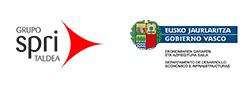 Logotipo de Gobierno Vasco y spri